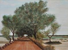 Paesaggio - 2013 olio su tela 30x40
