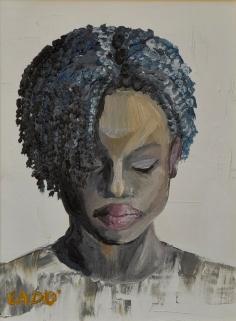 Ritratto di ragazza - 2014 olio su tela 24x18