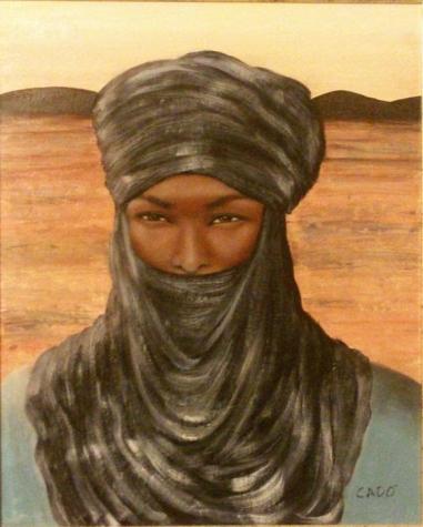 Tuareg - 2014 olio su tela 50x40