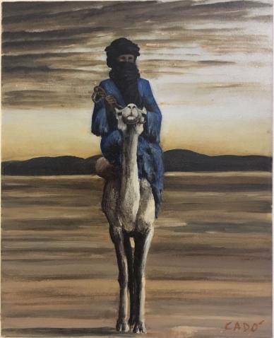 Tuareg - 2014 olio su tela 40x30