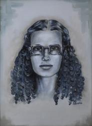 Mamma - 2011 olio su tela 40x30