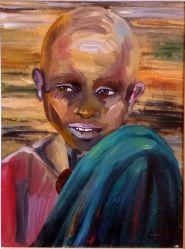 Ritratto di bambino - 2014 olio su tela 40x30